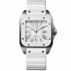 Cartier Santos 100 W20129U2 Ladies Watch