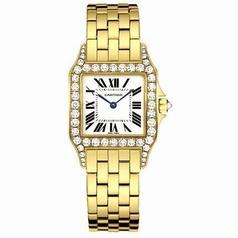 Cartier Santos Demoiselle WF9002Y7 Midsize Watch