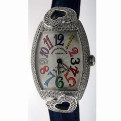 Franck Muller Color Dreams Coeur 7502 QZ D Ladies Watch