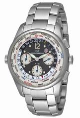 Girard Perregaux Worldwide Time Control 498051125511A Mens Watch