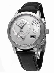 Glashutte PanoRetroGraph 61-01-02-02-04 Mens Watch