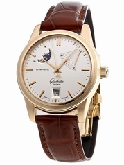 Glashutte Senator Navigator 39-44-03-11-04 Mens Watch
