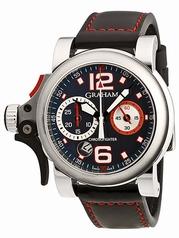 Graham Chronofighter RAC 2TRAS.T01A.K43B Mens Watch