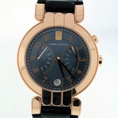 Harry Winston Premier Excenter Mens Watch
