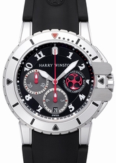 Harry Winston Project Z2 Diver 410-MCA44WZC-K Mens Watch