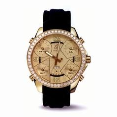 Jacob & Co. Five Time Zone - Large JC-10 Quartz Watch
