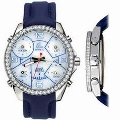 Jacob & Co. Five Time Zone - Large JC-12 White Dial Watch