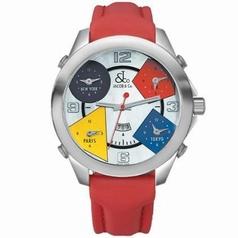 Jacob & Co. Five Time Zone - Large JC-13 Mens Watch