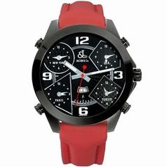Jacob & Co. Five Time Zone - Large JC-2 Black Dial Watch