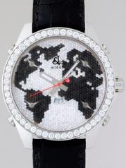 Jacob & Co. GMT World Time Automatic JC-47BKD Unisex Watch