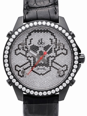 Jacob & Co. H24 Five Time Zone Automatic JC-SKULLBCD Mens Watch