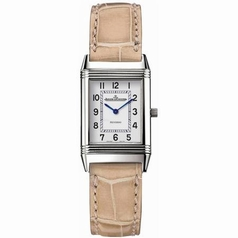 Jaeger LeCoultre Reverso - Ladies Duetto White Dial Watch