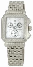 Michele Deco Blanc Noir MWW06A000678 Ladies Watch