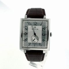 Milus Herios HERA1-SP01 Silver Dial Watch