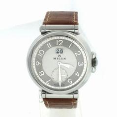 Milus Zetios ZET 401 Silver Dial Watch