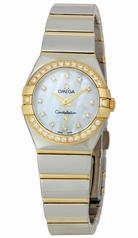 Omega Constellation Ladies OM12325246055007 Ladies Watch