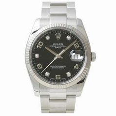 Rolex Date 115234 Black Dial Watch