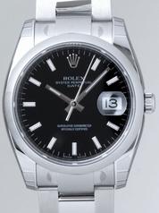 Rolex Date Mens 115200BKSO Mens Watch