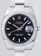 Rolex Date Mens 115210BKSO Mens Watch