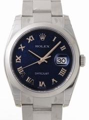 Rolex Datejust Men's 116200 Blue Dial Watch