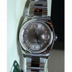 Rolex Datejust Men's 116200 Stainless Steel Case Watch