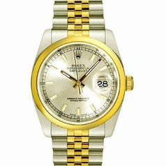 Rolex Datejust Men's 116203 Yellow Band Watch