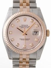 Rolex Datejust Men's 116231 Gold Dial Watch