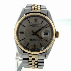 Rolex Datejust Men's 16233 Silver Dial Watch