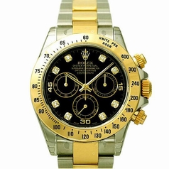 Rolex Daytona 116523 Yellow Band Watch