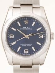 Rolex Oyster Date 116000BLASO Mens Watch
