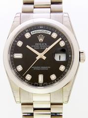 Rolex President Men's 118209BKDP Mens Watch