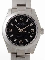 Rolex President Midsize 177200 White Band Watch