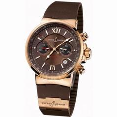 Ulysse Nardin Marine Chronograph 353-66-3/355 Mens Watch