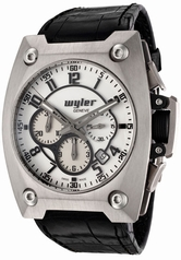 Wyler Geneve Code R 100.1.00.WB1.CBA Mens Watch