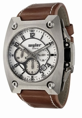 Wyler Geneve Code R 100.1.00.WB1.LBR Mens Watch