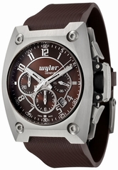 Wyler Geneve Code R 100.4.00.CH1.RBR Mens Watch