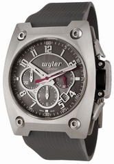 Wyler Geneve Code R 100.4.00.GR1.RGY Mens Watch