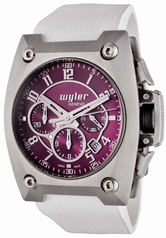 Wyler Geneve Code R 100.4.00.PU1.RWH Mens Watch