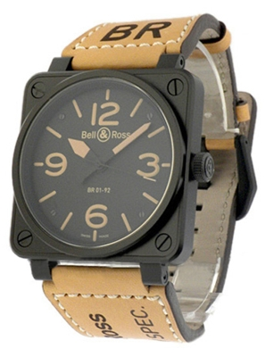 Bell & Ross BR01 BR-01-92-HERITAGE Mens Watch