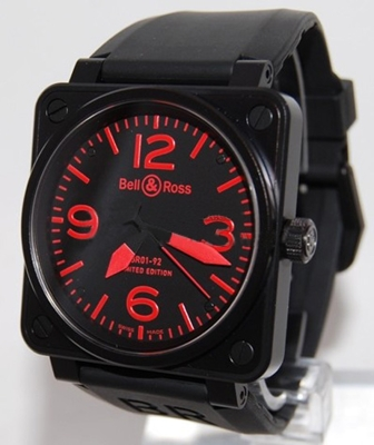 Bell & Ross BR01 BR01-92 Red Mens Watch