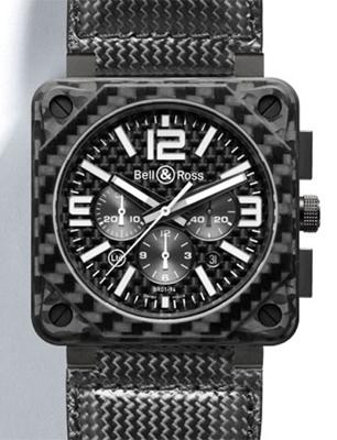 Bell & Ross BR01 BR01-94 Carbon Fiber Mens Watch