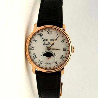 Blancpain Villeret 6639.3631.55B Mens Watch
