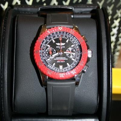 Breitling Skyracer A2736303-B823BKRD Mens Watch