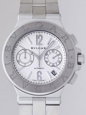 Bvlgari Diagono DG40C6SSD CH Mens Watch