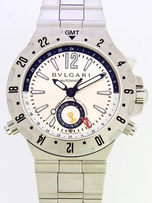 Bvlgari Diagono GMT40C5SSD Mens Watch
