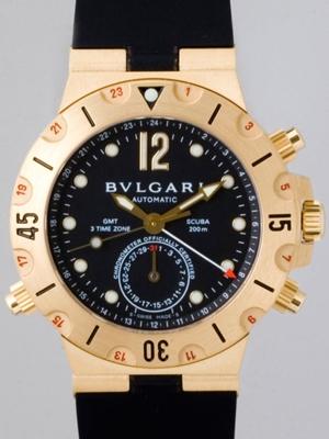 Bvlgari Diagono SD38GVD Mens Watch