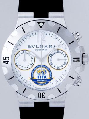 Bvlgari Rettangolo SC38WSV/SLN.FIFA Mens Watch