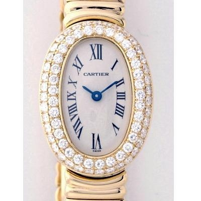 Cartier Baignoire WB5094D8 Ladies Watch