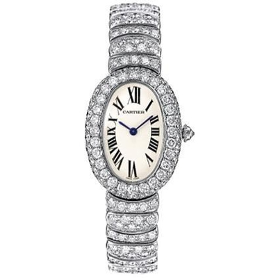 Cartier Baignoire WB5103LM Ladies Watch