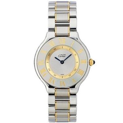 Cartier Must 21 W10072R6 Mens Watch